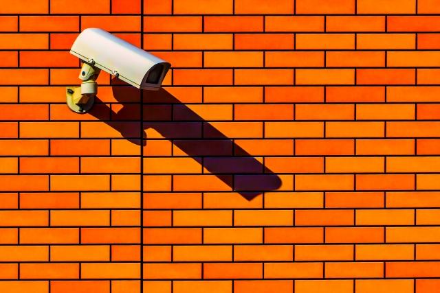 武尊神社には監視カメラが設置されている